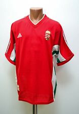 HUNGARY NATIONAL TEAM 1998/1999 HOME FOOTBALL SHIRT JERSEY ADIDAS SIZE XL ADULT