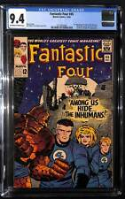 Fantastic Four #45 - CGC 9.4 - 1st appearance of Lockjaw & the Inhumans