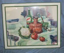 TONY VAN HASSELT AWS WATER COLOR STILL LIFE PHILBROOK MUSEUM TULSA CULINARY ART