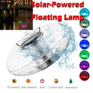 Solar Floating Light Pond Light Waterproof Color Changing LED Solar Pool Lights