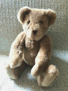 """Vintage Vermont Teddy Bear Company 1994 Large 20"""" Fully Jointed Outfit Included"""