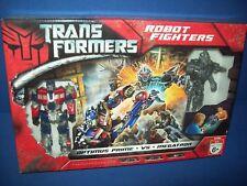 Transformers Robot Fighters Optimus Prime vs Megatron NIB sealed 2007