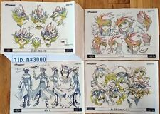 Yu-Gi-Oh ARC-V Real Document of HowTo Draw Characters Anime picture Japan RARE!!