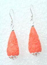 Joyería rojo coral