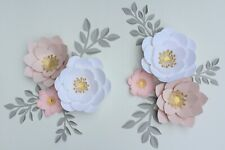 Paper Flower Decoration - Nursery Paper Flowers Decor