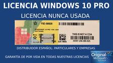 x5 KEYS Windows 10 Pro COA PEGATINA STICKER LICENSE LICENCIA 32/64 Bit