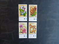 1990 GRENADINES OF St VINCENT SET 4 ORCHID MINT STAMPS MNH