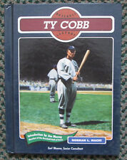 VINTAGE BASEBALL LEGENDS TY COBB BOOK DETROIT TIGERS RARE LOOK!