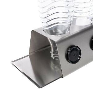 StreamBrush Abtropfhalter Flaschenhalter z.B. für Sodastream Crystal / DUO 2X E