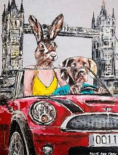 GILLIE AND MARC. Direct from Artists. Authentic Art Print. 'London' 'Travel'