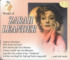 2CD * ZARAH LEANDER - THE WORLD OF ZARAH LEANDER