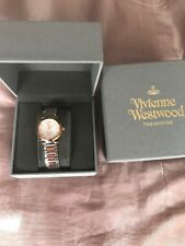 Vivienne Westwood Diamond Ladies Watch Gold And Silver 100% Genuine
