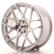 Japan Racing JR18 Alloy Wheel 17x8 - 4x114.3 / 4x100 - ET35 - Silver Machined