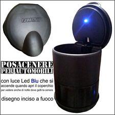 CENERIERA Posa cenere VINTAGE 7x10cm accessori auto LED per FIAT GRANDE punto