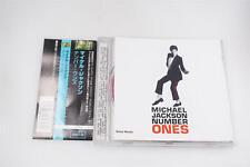 MICHAEL JACKSON NUMBER ONES IMPORT CD OBI A14156