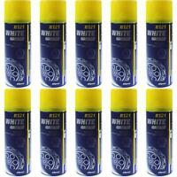 10x450ml MANNOL 8121 Schmierung White Grease Schmierfett Lithiumfett Fettspray