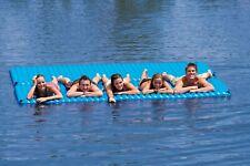 6 Person Inflatable Floating Platform Mat Water Raft Pool Lake Lounge Island LG