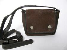 RUGBY NORTH AMERICA M0851 BROWN LEATHER OVER SHOULDER SMALL MESSENGER PURSE BAG