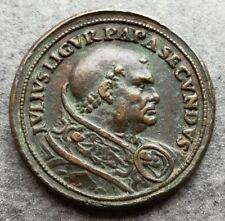 Medaglia Vaticano Giulio II 1509 Construzione Basilica San Pietro 36mm 28,27gr