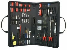 Computer Laptop Technician Tool Kit 90 Pc Components Repair Maintenance w Case