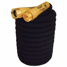Pocket Hose Top Brass Connectors Bullet Spray Nozzle 75 Ft Feet Lightweight