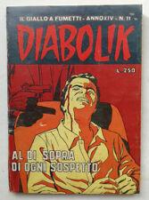 DIABOLIK N° 11 anno XIV Astorina 1975