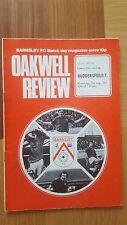 Barnsley v Huddersfield Town 1975/76 League Cup Football Programme