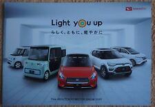 Daihatsu concept cars Prospekt / Brochure _Tokyo Motor Show 2017