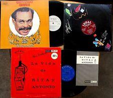 LATIN LP LOT of 3: PEPE MALDONADO, BIENVENIDO GRANDA, RITA y ANTONIO