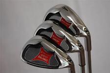 Senior Lady Golf Wedge Set Graphite 52 AW 56 SW 60 LW Gap Sand Lob Wedge Clubs