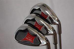 Senior Golf Wedge Set Custom 52 AW 56 SW 60 LW Gap Approach Sand Lob Wedge Clubs