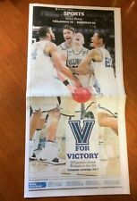 National Champion Villanova Wildcats Philadelphia Inquirer 4/3/18 Newspaper MINT