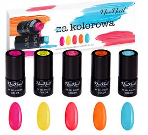 NeoNail - I am colourful Set - NeoNail UV Nagellack 5x 3ml Lacke Nail Polish