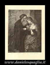SHYLOK JESSIKA GOTTLIEB MOSES STAMPA ORIGINALE 1800