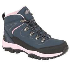 Ladies Womens Waterproof Leather Walking Hiking Ankle Boots Trainers Shoes Size