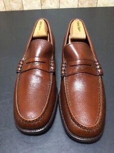 Vintage Florsheim Imperial Men's Shoes NOS 93126 Nova Brown Loafers Sz 10.5C