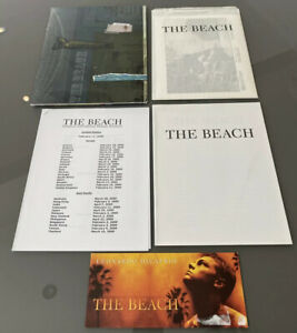 The Beach Original Press Kit & Screening Ticket (2000) Leonardo DiCaprio