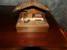 VINTAGE REUGE DANCING MINIATURE BALLERINA MUSIC BOX org. cond. working