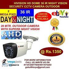 HiVision CCTV 2 MP HD CCTV Camera with 20 Mtr. Night Vision Bullet (Outdoor)