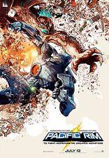 Sergio Grisanti Pacific Rim Litho Poster Print Guillermo Del Toro Charlie Hunnam