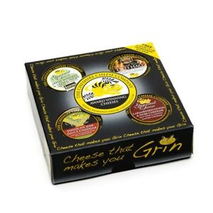4 x Gourmet Cheese Waxed Truckles Gift Set