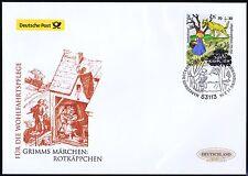 BRD 2016: Rotkäppchen Post-FDC der selbstklebenden Wohlfahrtmarke Nr. 3215! 1706