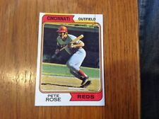 1974 Topps #300  Pete Rose   MAJOR PRINTING COLOR BLEED ERROR Card   HTF Rare