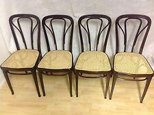 4 Original Thonet Stühle um 1900!! Sehr selten!! Restauriert!! Neues Geflecht!!