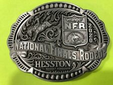 NEW 2020 Hesston National Finals Rodeo Belt Buckle (Adult size)
