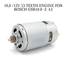 10.8V 12V 13 Zähne Motor Ersetzen Für BOSCH GSR10.8-2-LI GSR120-LI GSR10.8V-LI-2