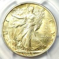 1935-S Walking Liberty Half Dollar 50C Coin - PCGS Uncirculated Detail (UNC MS)