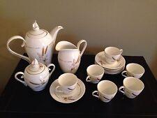 Porcelana Schmidt Catarina Demitasse Tea/ Expresso Set  Brazil 1968  VERY RARE!