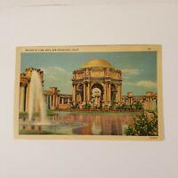 "Vtg Palace of Fine Arts San Francisco Postcard 3.5"" x 5.5"" Piltz Co. Post Card"