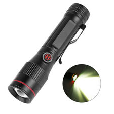 P8 LED Light High Power USB Rechargeable Flashlight Zoomable Easy Carry Outdo_gu
